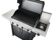 Char-Broil Professional 4 газовый гриль черный