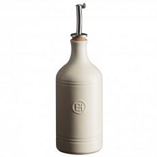 Emile Henry Бутылка для масла и уксуса, цвет: крем