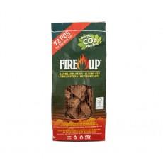 Fire Up - Брикеты для розжига угля, 72 таб.