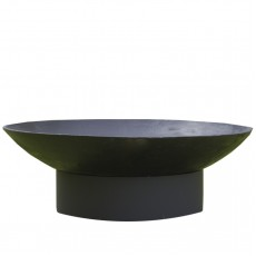 Concretika Чаша для костра на круглом металлическом основании iron M80