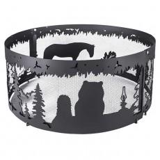 Firecup Кольцо для костра малое Ежик в тумане